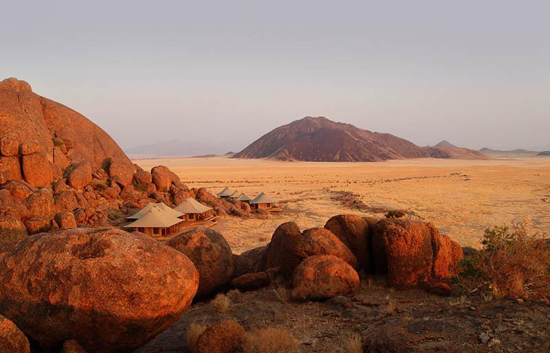 Carpas de lujo en Namibia