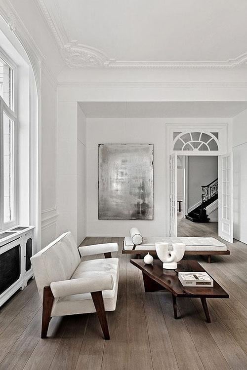 Amplitud y espacio en los salones de estilo escandinavo