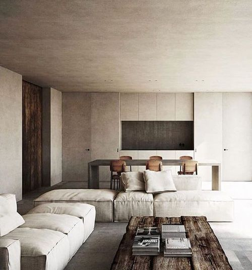 Ideas para decorar un salón minimalista