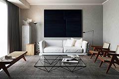 salones de estilo minimalista