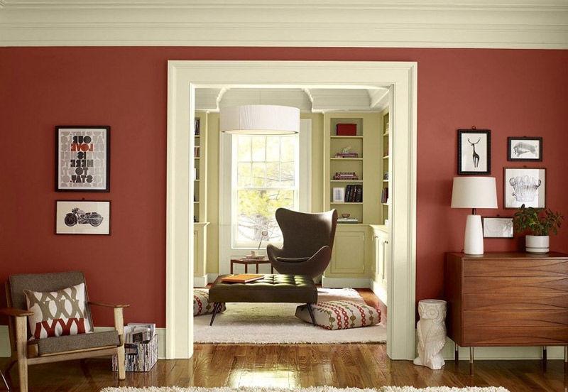Colores para salones con cu l me quedo nomadbubbles - Muebles color cerezo como pintar paredes ...