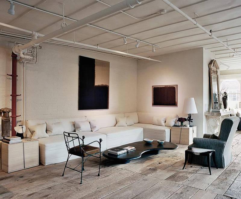 Interiores de estilo rústico moderno