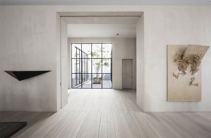 Casa de estilo minimalista