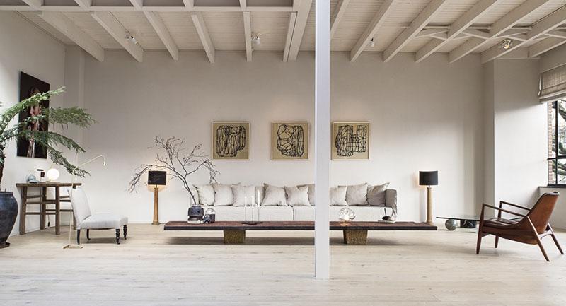 decoración de salones tipo loft