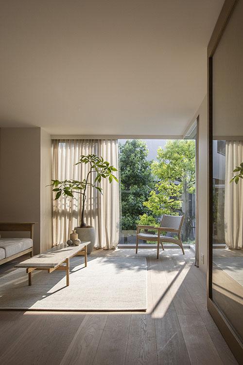 decoración minimalista de salones