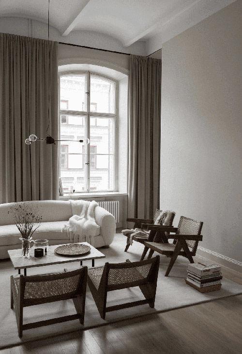 El color gris en la decoración de salones