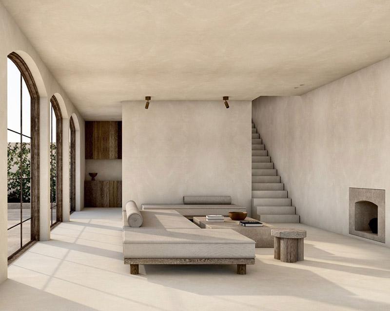Cómo decorar un salón de estilo minimalista