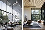 salones de estilo moderno