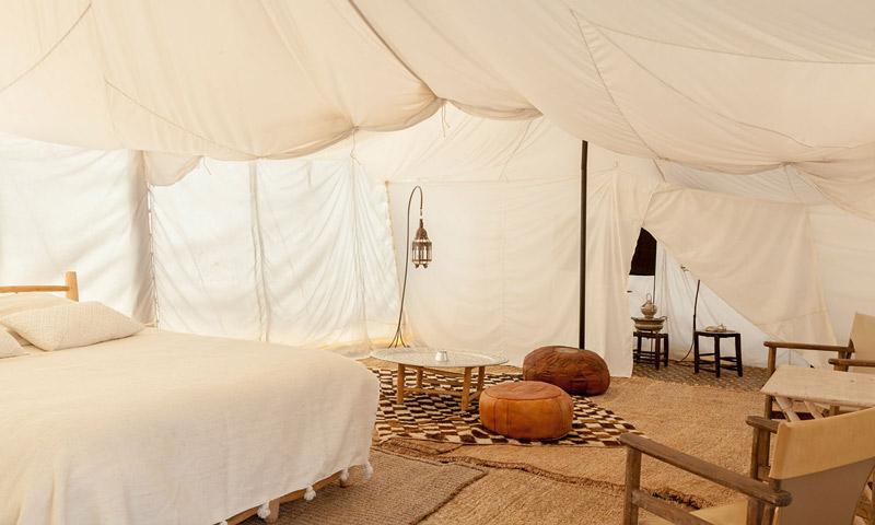 Scarabeo Camp dormitorio tienda