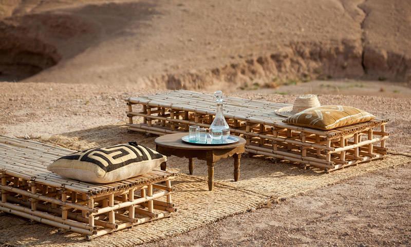 Scarabeo Camp terraza