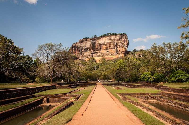 Sigiriya, o Lion Rock en Sri Lanka