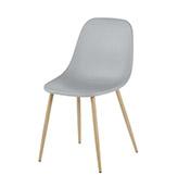 silla gris de estilo nórdico