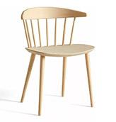 silla de madera de roble para el comedor