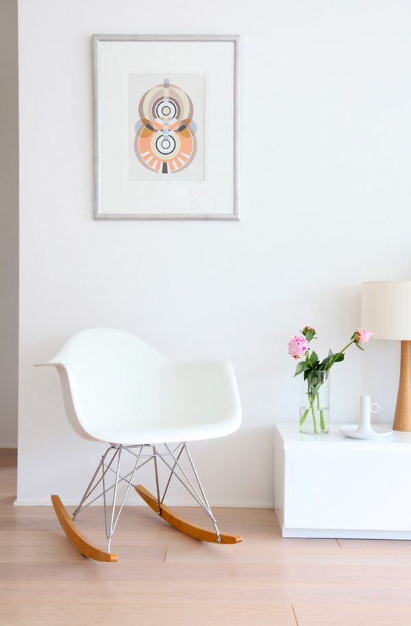 Silla Eames Rocking Chair
