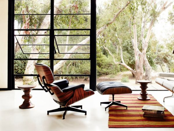 Lounge chair de Eames