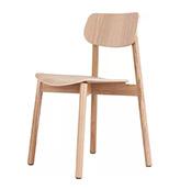 Silla de madera de diseño escandinavo