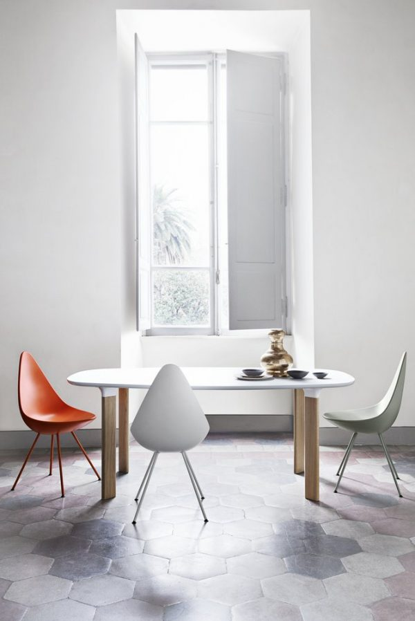 Silla Drop de Arne Jacobsen