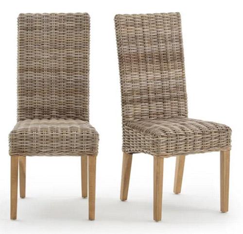 sillas de ratan con respaldo alto
