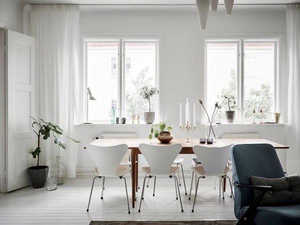 Sillas Serie 7 de Arne Jacobsen
