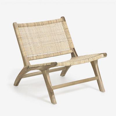 sillón de madera de teca