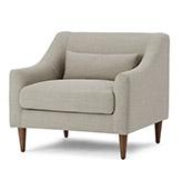 sofá tapizado beige oscuro
