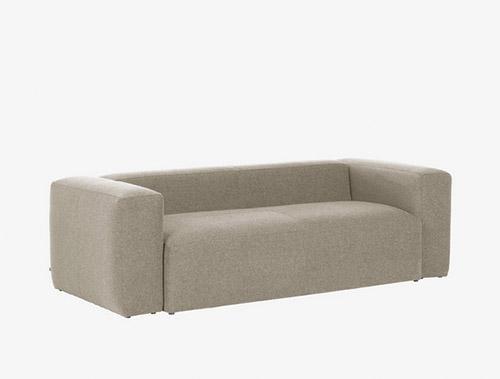 sofa beige 3 plazas