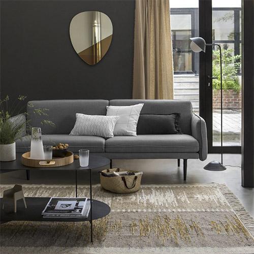 sofa cama de estilo nórdico