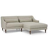 sofá estilo chaise longue