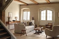 sofá beige