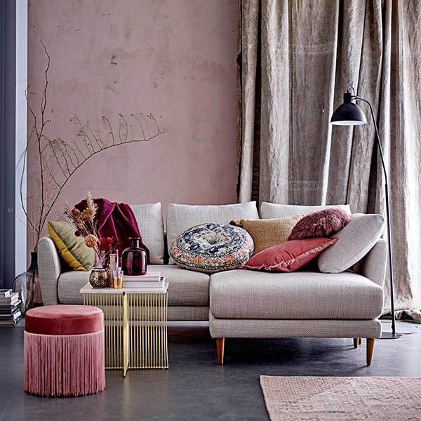 muebles de diseño escandinavo en la decoración nórdica