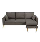 sofa esquinero con patas de madera