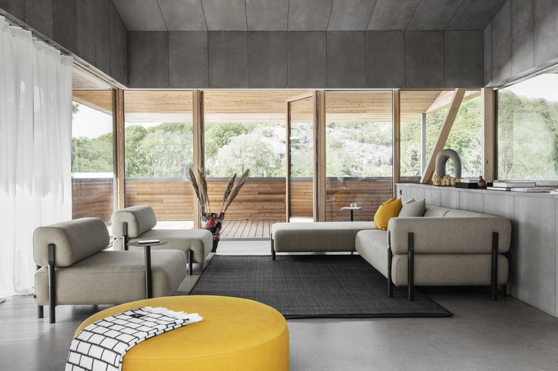 sofás modulares modernos de diseño nórdico