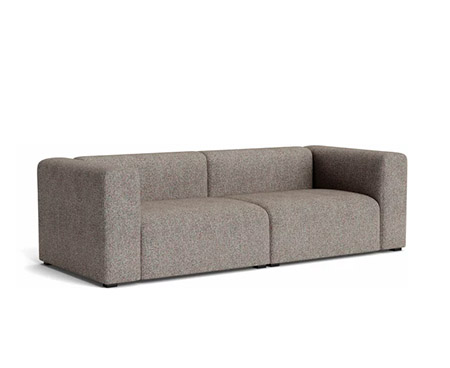 sofá de color gris oscuro