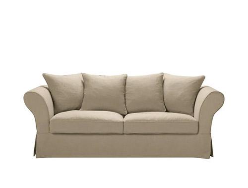 sofá estilo rústico