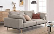sofa diseño nórdico
