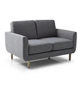 sofa 2 plazas de estilo escandinavo de color gris