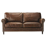 sofá de piel de cuero