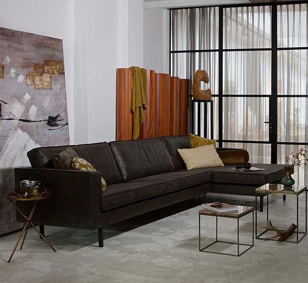 mobiliario para una decoración de estilo industrial