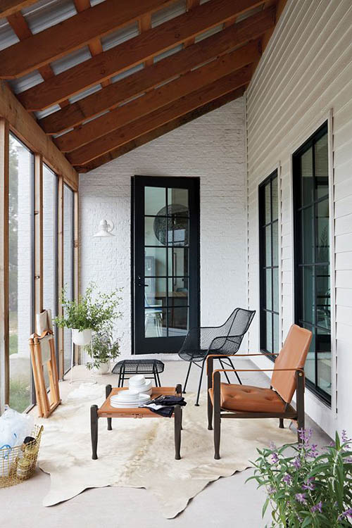 Muebles de estilo nórdico para la decoración de interiores y exteriores