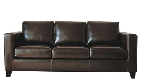 sofá de estilo vintage para una decoración industrial