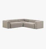 sofa esquinero de color beige