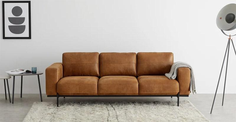 sofás y sillones de piel de cuero