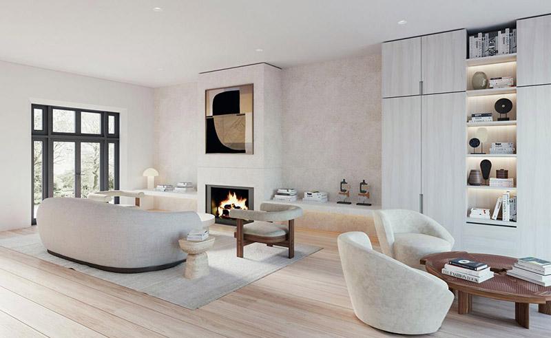 Muebles para decorar un salón moderno