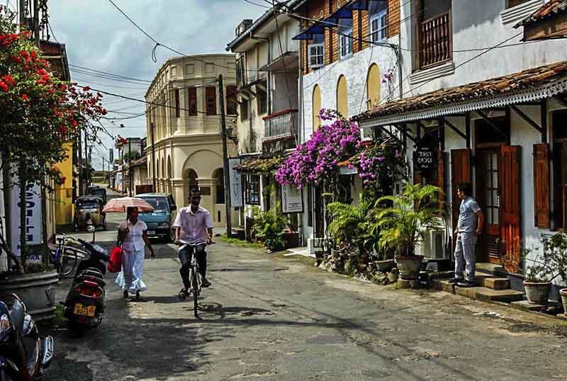 Galle, ciudad colonial en sri Lanka