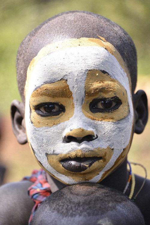 tribu suri de etiopia