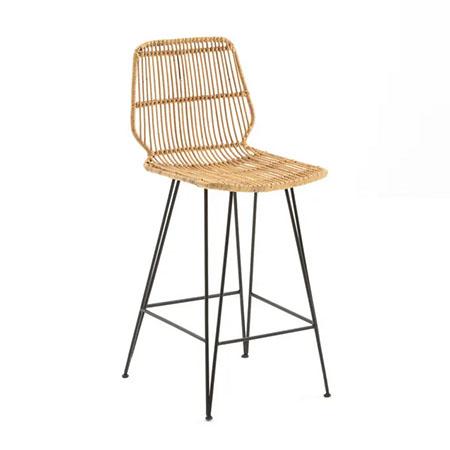silla alta de barra de bar