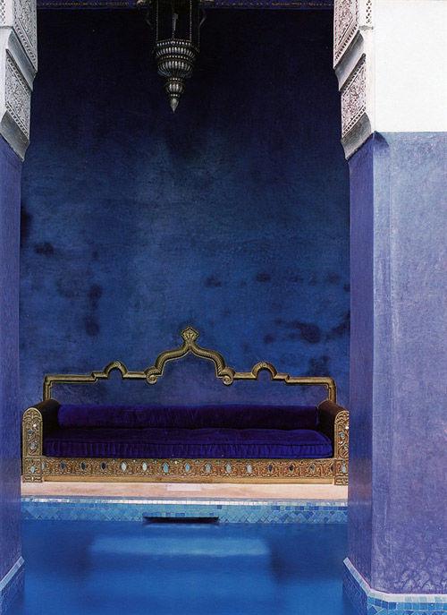Baño con revestimiento tadelakt