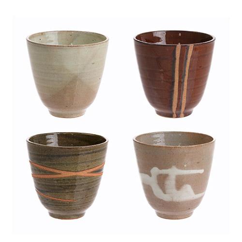 tazas de cerámica esmaltada