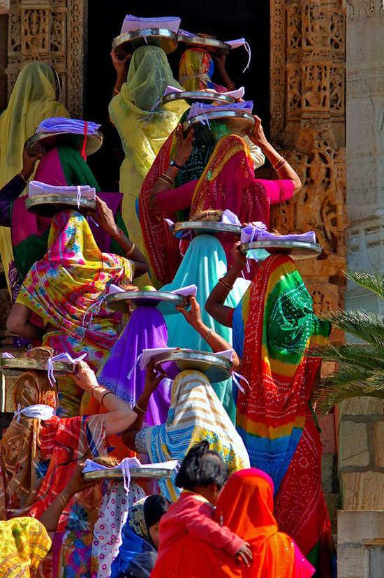 Tejidos de la India