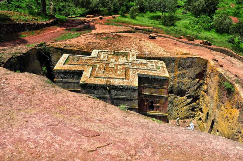 Monumentos y templos en Etiopía